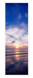 Premiumposter  Sunsets on the beach - The Irish Image Collection