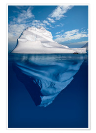 Premiumposter  Iceberg in the Canadian Arctic - Richard Wear