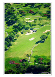Premiumposter  Golf course - Ron Dahlquist