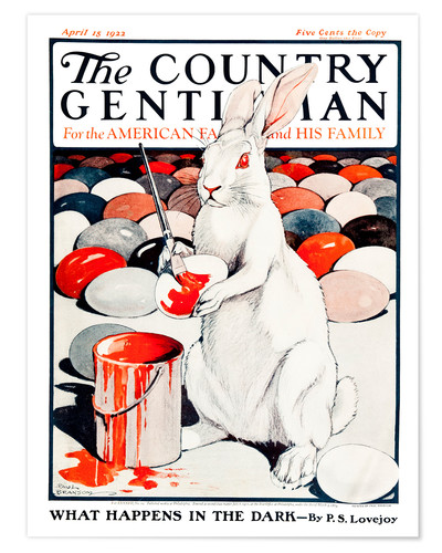 Premiumposter Cover of Country (White Rabbit)
