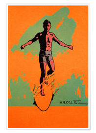 Premiumposter  The Surfer - Hawaiian Legacy Archive