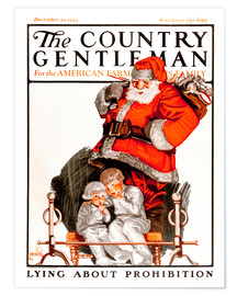 Premiumposter Cover of Country (Santa Claus)