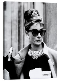 Canvastavla  Breakfast at Tiffany's