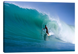 Canvastavla  Surfing the dream wave - Paul Kennedy