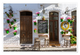 Premiumposter  Typical bar in Andalusia - Matteo Colombo