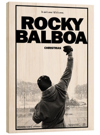 Trätavla  Rocky Balboa - Entertainment Collection