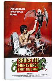 Canvastavla  Bruce Lee Fights Back from the Grave - Entertainment Collection