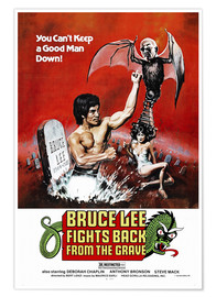Premiumposter  Bruce Lee Fights Back from the Grave - Entertainment Collection