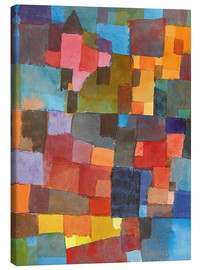 Canvastavla  Room Architectures - Paul Klee