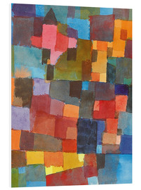 PVC-tavla  Room Architectures - Paul Klee