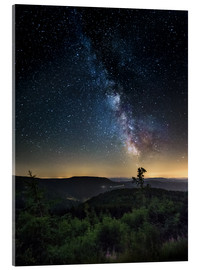 Akrylglastavla  Milky Way over Black Forest - Andreas Wonisch