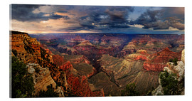 Akrylglastavla  Grand Canyon View - Michael Rucker
