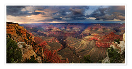 Premiumposter  Grand Canyon View - Michael Rucker