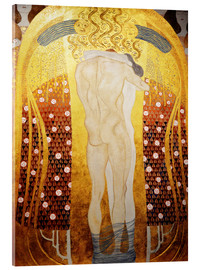 Akrylglastavla  The kiss - Gustav Klimt