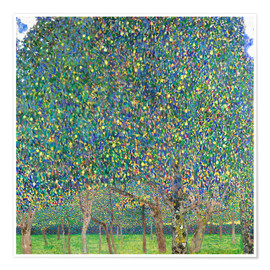 Premiumposter  Pear tree - Gustav Klimt