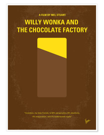 Premiumposter Willy Wonka And The Chocolate Factory