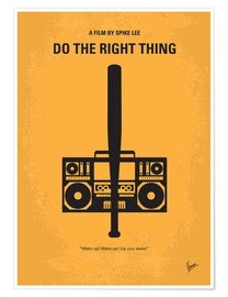 Premiumposter Do The Right Thing