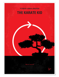 Poster No125 My KARATE KID minimal movie poster