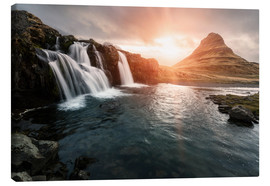 Canvastavla  Kirkjufell - Images Beyond Words