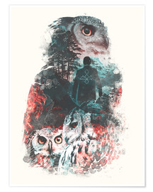 Premiumposter  The Owls are Not What They Seem - Barrett Biggers