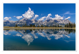 Premiumposter  Mountain Range Wilder Kaiser - Achim Thomae
