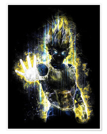 Poster  Vegeta Fury - Barrett Biggers