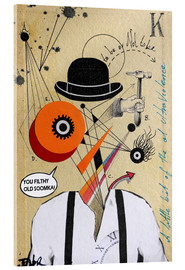 Akrylglastavla  A Clockwork Orange - Loui Jover