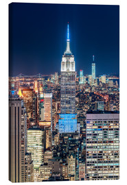 Canvastavla  Empire State Building from Top Of The Rock - Sascha Kilmer