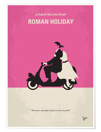 Premiumposter Roman Holiday