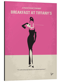 Aluminiumtavla  Breakfast at Tiffany's - chungkong