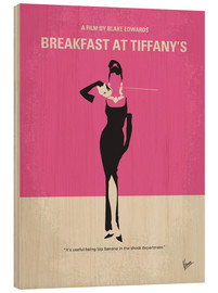 Trätavla  Breakfast at Tiffany's - chungkong