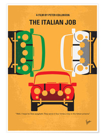 Premiumposter The Italian Job