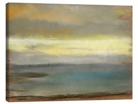 Canvastavla  Marine sunset - Edgar Degas