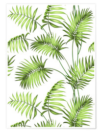Premiumposter Tropical forest