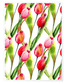 Premiumposter  Tulips flowers