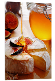 PVC-tavla  Brie Cheese and Figs with honey - Johan Swanepoel