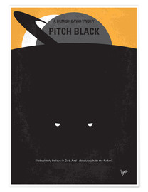 Premiumposter Pitch Black
