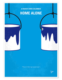 Poster No427 My Home alone minimal movie poster
