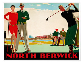 Premiumposter  North Berwick Golf Club - Andrew Johnson