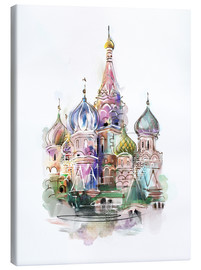 Canvastavla  St. Basil's Cathedral