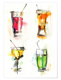 Premiumposter  Colorful drinks