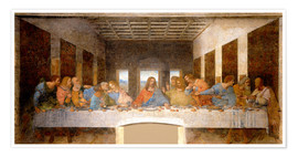 Poster  The Last Supper - Leonardo da Vinci