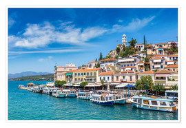 Premiumposter  Poros Island on a summer day