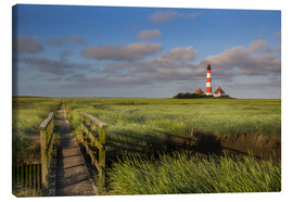 Canvastavla  Lighthouse in the salt marshes on the North Coast