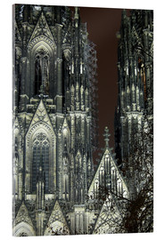 Akrylglastavla  Detail of Cologne Cathedral