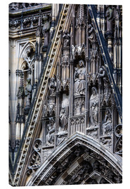 Canvastavla  Facades detail at Cologne Cathedral
