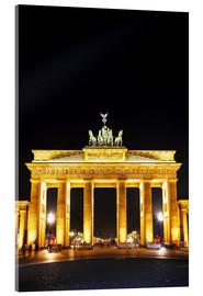 Akrylglastavla  Brandenburg gate (Brandenburger Tor) in Berlin
