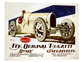 Akrylglastavla  The original Bugatti (German)