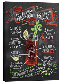 Canvastavla  Bloody Mary recept - Lily & Val