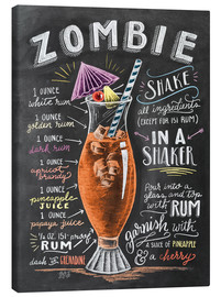 Canvastavla  Zombie cocktail recept - Lily & Val